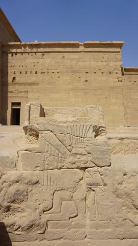The Temple of Isis, Philae, Agilkia Island, Laker Nasser, Aswan, Egypt.