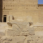 The Temple of Isis, Philae, Agilkia Island, Laker Nasser, Aswan, Egypt. thumbnail