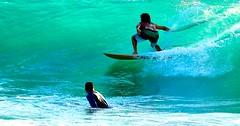 Surfing the Turkiz wave - Tel-Aviv beach - Follow me on Instagram:  @lior_leibler_photography (Lior. L) Tags: surfingtheturkizwavetelavivbeach surfing turkiz wave telaviv beach