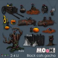 MOoH! Black cats gacha (Dalriada Delwood (MOoH!)) Tags: gacha gatcha mooh sl twe12ve