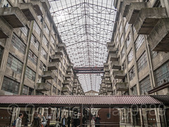 Building B's Atrium, Brooklyn Army Terminal, Sunset Park, New York City (jag9889) Tags: 2018 20181014 architecture atrium balcony bridge bridges brooklyn brooklynarmyterminal bruecke brücke building cassgilbert crossing event house indoor infrastructure kingscounty landmark nrhp ny nyc nationalregisterofhistoricplaces newyork newyorkcity newyorkisopen ohny ohnyweekend openhouse openhousenewyork pont ponte puente punt southbrooklyn span structure sunsetpark terminal usa unitedstates unitedstatesarmy unitedstatesofamerica warehouse jag9889