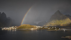 The land of fairy tales - Lofoten (Cyrus Smith NW) Tags: lofoten norvège norway rainbow norge sakrisoy ngc
