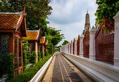 Along the Temple (dlerps) Tags: bkk bangkok city daniellerps lerps sony sonyalpha sonyalpha99ii tha thai thailand urban lerpsphotography metropolitan watarun temple buddhism buddhist path vantagepoint religion asia