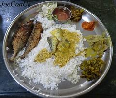 Fish Curry rice Thali (Joegoaukfishcurry2) Tags: joegoauk goa fish vasco rice