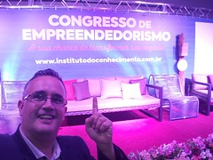 1° Congresso de Empreendedorismo de Sorocaba. Realizado 18/10/2018.