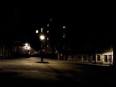 Dark City | Makar's Court (bnrynlds) Tags: portra 100t edinburgh bronica etrsi
