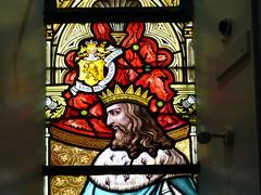 Church - St Andrews Catholic, Braemar 180711 [Stained Glass Window 5b] (maljoe) Tags: church churches braemar stainedglasswindow stainedglass stainedglasswindows