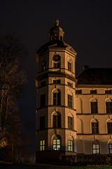 Skokloster tower (MIKAEL82KARLSSON) Tags: skokloster kloster slott castle night nightshot nightphoto natt nattfoto longexpo old gammalt sverige sweden sony a7ll samyang 50mm mikael82karlsson