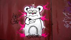 OLDENBURG - Metal Wall / - Street: Stedinger Straße, Drielaker Straße / -  Graffiti, Streetart / - the 63rd picture (tusuwe.groeber) Tags: projekt project lovelycity graffiti germany deutschland lowersaxony oldenburg streetart niedersachsen city stadt farbig farben favorit colourful colour sony sonyphotographing nex7 bunt red rot art gebäude building gelb grün green yellow abs psk diejungs wandgestaltung metal wall wand stedingerstrase drielakerstrase