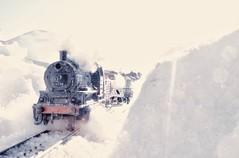 Dovre Mountain Norway (coltrain2011) Tags: dovrefjell hjerkinn tog damptog modelltog modelljernbane winter snow