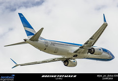 LV-HKU (juan_macerOK) Tags: aircraft airport aeronave airline avion arriving aviation arrival takeoff airplane airlines boeing b737 cabinademando cielo avión aerolineasargentinas argentina aeroparque b737max8 lvhku