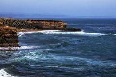 (Abel AP) Tags: coast ocean cliffs water waves californiacoast landscape outdoor nature scenic santacruz california usa northerncalifornia westcoast pacificocean travel abelalcantarphotography