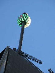 Lighted Green Waterford Crystal Ball on Pole 4751 (Brechtbug) Tags: number one times square building with lighted green waterford crystal ball pole 2018 new york city looking south nyc broadway architecture holiday buildings signs year years ad electronic billboard 11122018 november