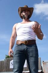 WOL_7248 (Socal Photography) Tags: xmen wolverine logan oldmanlogan patrickking andrewkolstad bts photoshoot nikon captainmarvel marvelcomics mutant marvel stunts stuntman western gambit oldwest cowboy puyallup fair statefair
