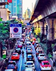 Bangkok (scuzzini) Tags: bangkok thailand traffic