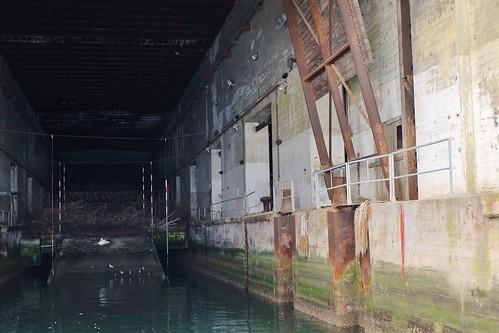 Base sous marine allemande, la Pallice, La Rochelle