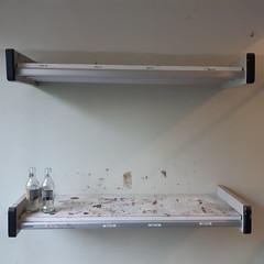 20180905_39 Kampen (NL) oude HBS, empty boot shelf