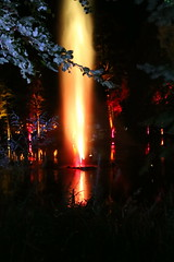 2018 - 4.10.18 Enchanted Forest (84) (marie137) Tags: forest lights trees show marie137 bright colourful pitlochry treeman attraction visit entertainment music outdoors sculptures wicker food drink family people water animation