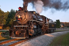 SR 4501 at Chattanooga, TN (KD Rail Photography) Tags: sr4501 southernrailway southern southern4501 sou4501 trains railroads transportation baldwinlocomotiveworks steam steamlocomotive tennessee tennesseevalley tennesseevalleyrailroad chattanooga fallseason sunset eveninglight eveningsky