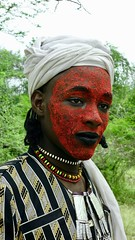 Wodaabe... (revelinyourtime) Tags: gerewol tribe tribes africa chad tchad ciad festival dance tribal travel epic portraits people men women ceremony ritual black wodaabe sudosokai djepto