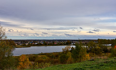 A Look From The Hill (kanyck (Thanx 4 0.5M views!)) Tags: 1835 d7200 nikon sigma country water lake foliage sky serene cloudy ngc