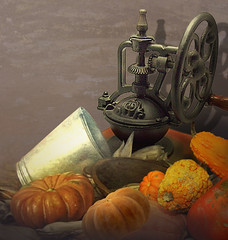 The harvest (jaci XIII) Tags: colheita celeiro milho abóbora moedordecafé harvest barn corn pumpkin coffeegrinder