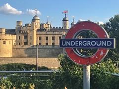 Tower of London, London, England (PaChambers) Tags: toweroflondon river thames southwark 2018 england historic summer city beautiful europe uk cityoflondon iphone london bridge britain gb urban water capital