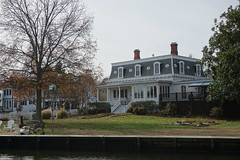 St. Michaels, Maryland (rebeccajgale) Tags: chesapeake bay maritime museum historic town houses homes buildings victorian colonial drawbridge water waterfront miles river boats maryland st michaels
