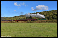 No 34081 92 Squadron 28th Sept 2018 North Yorkshire Moors Railway Steam Gala Grosmont (Ian Sharman 1963) Tags: no 34081 92 squadron 28th sept 2018 north yorkshire moors railway steam gala grosmont class wc bb west country and battle of britian 462 darnholme station engine rail railways train trains loco locomotive passenger heritage line nymr whitby pickering goathland