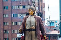 Liverpool's Dream (Tony Shertila) Tags: england jeanluccourcoult liverpool newbrighton albertdock britain europe giants liverpooldream liverpoolsdream marionettes merseyside puppets royaldeluxe wirral ©2018tonysherratt unitedkingdom 20181006111528liverpooldreamgiantsalbertdocklr