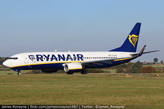 EI-GJM | Boeing 737-8AS | Ryanair (james.ronayne) Tags: eigjm boeing 7378as ryanair aeroplane airplane plane aircraft jet jetliner aviation flight flying london luton ltn eggw canon 80d 100400mm raw