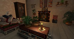Getting my cozy on (Thaihiti) Tags: cozy secondlife sl furniture autumn fall