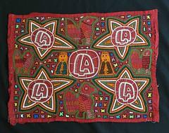 Mola With Stars and Birds Guna Panama (Teyacapan) Tags: kuna guna molas panama textiles stars estrellas sewing needlework