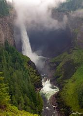Helmcken Falls (since 1960) Tags: kanada canada britishcolumbia clearwater nationalpark rockymountains berge wald forest baum waterfall schlucht canyon landschaft landscape natur nature fujifilmx100s wasserfall