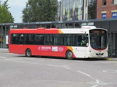 Rosso 1608 (YN06NXT) 28082018 (Rossendalian2013) Tags: transdevblazefield transdev rossendaletransport rosso bus bury interchange busstation scania wright solar readingbuses l94ub yn06nxt