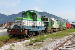 LeNord DE500.03FM+D753.059DG+D753.060DG+D753.058DG+D753.051DG - Iseo (Karl70 Photos) Tags: d50003 d753059 d753060 d753058 d753051 d753nc d753dg d500ln d500 d753 lenord del fungo giera nordcargo nc iseo brescia lombardia tren trenes train trains bahn rail railway railways railview railroad ferrocarril locomotiva locomotivadiesel locomotive lokomotive locomotora diesel italy italia canoneos500d