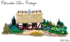 Chocolate Box Cottage (Emil Lidé) Tags: lego moc chocolate box cottage tree garden house thatched escapetothecountry