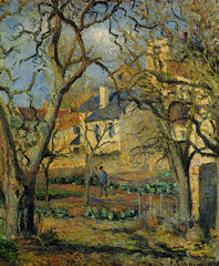 Camille Pissarro - Vegetable Garden, 1878 at Bridgestone Museum of Art Tokyo Japan (mbell1975) Tags: tokyo tokyoprefecture japan jp camille pissarro vegetable garden 1878 bridgestone museum art museo musée musee muzeum museu musum müze museet finearts gallery gallerie beauxarts beaux galleria painting impression impressionist impressionism french