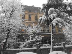 Sarıca Köşkü Moda Istanbul (ustegen) Tags: moda istanbul snow winter turkey sarıcaköşkü
