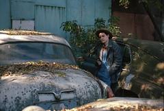 Boris (Losashik) Tags: fujica gl690 ektar100 ektar 10035 18056 fujinonts moscow portrait soviet film 6x9 mediumformat mf friend cars москва россия