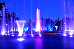 Fountain Night Lights ,Blue Hours (misi212) Tags: blue hours fountain long exposure
