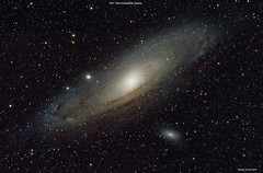 The Andromeda Galaxy Group M31, M110 & M32 (Ralph Smyth) Tags: m31 andromeda ngc galaxy galaxies m32 m110 ngc224 nikon d5300