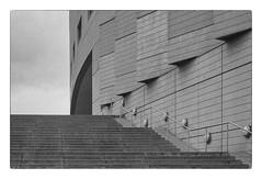 Saalbau, Essen (explored 2018/09/21) (Tom Levold (www.levold.de/photosphere)) Tags: nikon d7000 sw bw saalbau architektur essen architecture nikonessen