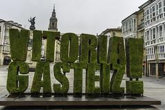 Plaza de la Virgen Blanca, Vitoria-Gasteiz, Spain (rickwarner) Tags: paãs vasco vitoriagasteiz gasteiz spain vitoria