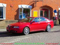 Alfa Romeo 166 2.0 2005 (Trucks and nature) Tags: alfa romeo 166 20 2005 luxury saloon sedan cool rare beautiful italian 4 cylinder cruiser
