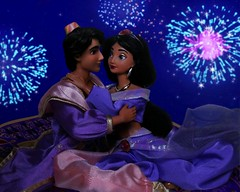 A whole new life for you and me (They Call Me Obsessed) Tags: aladdin jasmine princess prince finale disney store doll dolls barbie