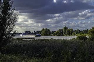 Holland - Lek bij Schoonhoven.
