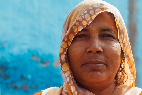 Woman's Portrait, Mathura India