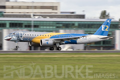 Embraer 190-E2 PR-ZGQ 24-9-2018 (Enda Burke) Tags: przgq embraer embraer190 embraer190e2 e2 avgeek aviation airplane airport arrival egcc engine engines england evening panning pan motionblur runway ringway travel takeoff taxiing taxiway terminal1 terminal3 manchesterairport manchester man manc manairport manchesterrunwayvisitorpark manchestercity mcr cockpit grass aircraft window