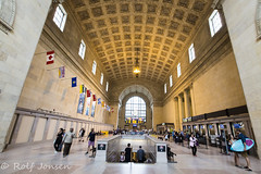 Toronto Union Station (rjonsen) Tags: train station building architecture toronto canada urban indoor indoors wide angle high iso